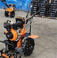 "Дизельний мотоблок Forte 1050E Orange (колесо 10"")"
