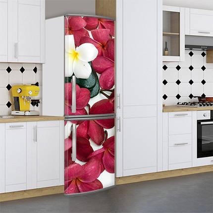 Большие Виниловая наклейка на холодильник, Самоклейка, 180 х 60 см, Лицевая (holSS1_fl102934 Цветы), фото 2