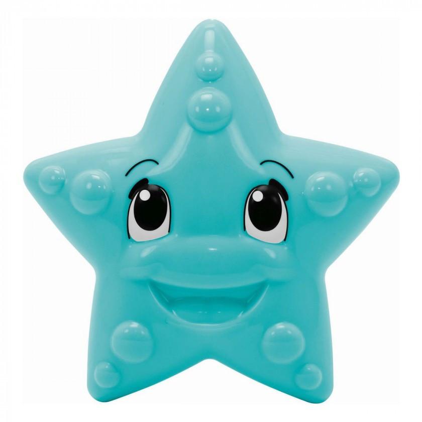 """Игрушка для ванны """"Морская звезда"""" со световым эффектом, меняет цвет, 12 см, 12 мес. + (401 0073)"""