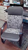 Кресло-качалка Комфорт комбинированная ткань, фото 1