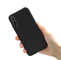 Чехол силиконовый для Huawei Nova 5T черный