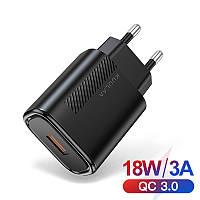Сетевое зарядное устройство для телефона QC 3.0 быстрая зарядка смартфона KUULAA 18W USB Fast Charge (KL-CD11)