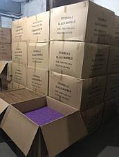 Декоративная 3D панель самоклейка под кирпич Черный мрамор 700x770x5мм, фото 3