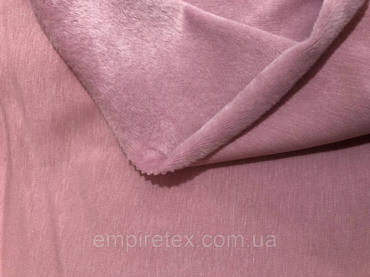 Трехнитка на Меху Розовая