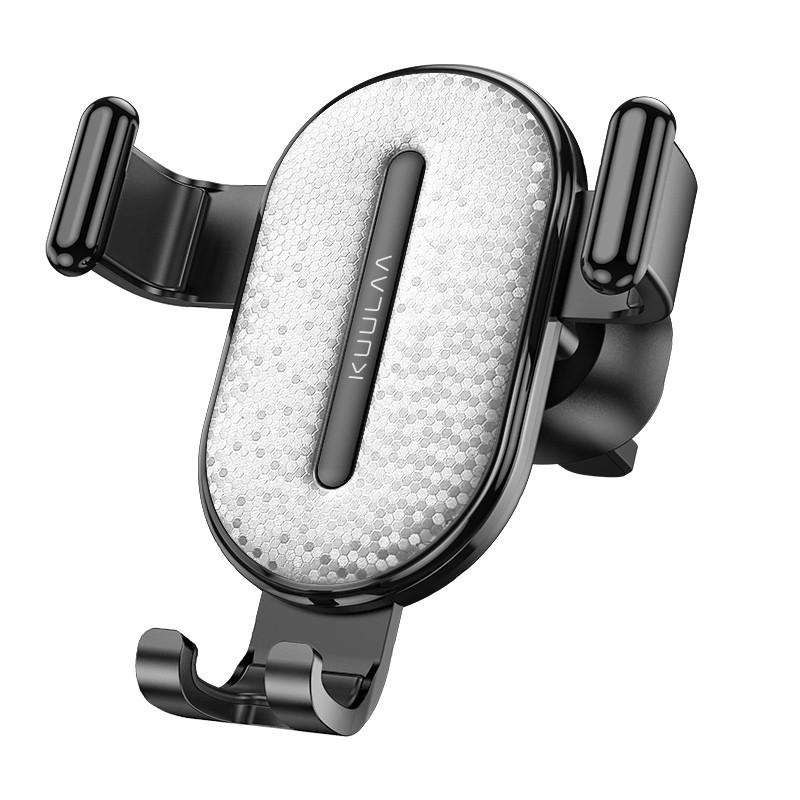 Автотримач для телефону 360° з захистом від подряпин універсальний тримач смартфона в машину KUULAA
