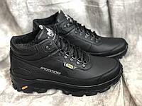 Зимние кроссовки с натуральной кожи 216 ч/к размеры 40,42,43,45, фото 1