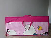 """Детский складной развивающий термо коврик """"Панды"""" 1600 х 1800 х 10 мм, фото 3"""