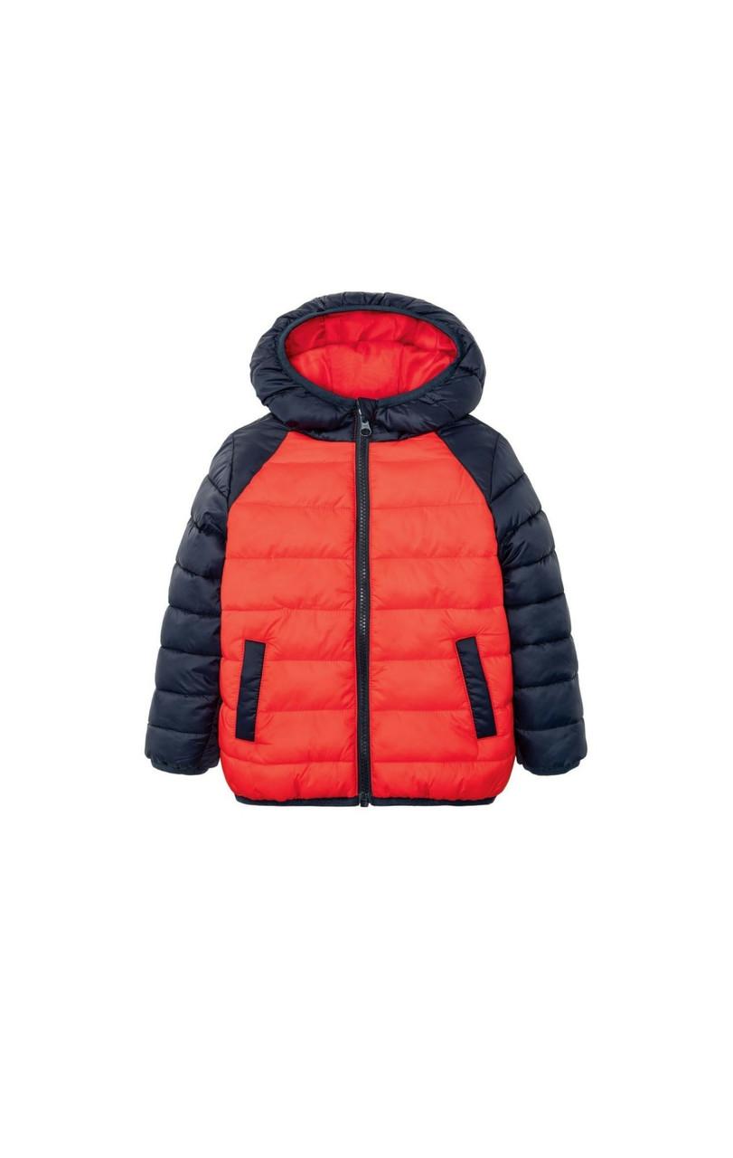 Куртка для мальчика красная  Lupilu р.104cм
