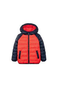Куртка для мальчика красная  Lupilu (Германия) р.104cм