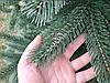 Елка искусственная литая Буковельская 2.3 м. Зеленая. Ель литая, штучна ялинка( как настоящая премиум), фото 4