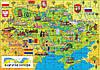 "Пазл ""Карта Украины"" 110 елементов (КП-001) KP-001, фото 2"
