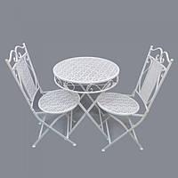 Декоративная мебель, металл, стол и 2 стула SKL79-208460