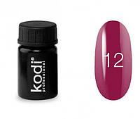 Гель-краска Kodi Professional №12