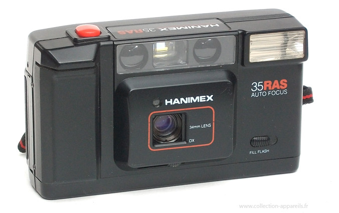 Б/У Фотоаппарат Hanimex 35 AFX 35mm. Фотокамера пленочная Hanimex 35 AFX 35mm