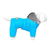 Комбінезон Airy Vest One XS30 утеплений блакитний Collar для собак