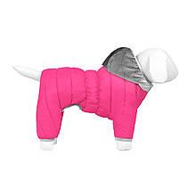 Комбінезон Airy Vest One XS25 утеплений рожевий Collar для собак