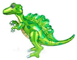Шар-ходячка Спинозавр зеленый 60х72 см