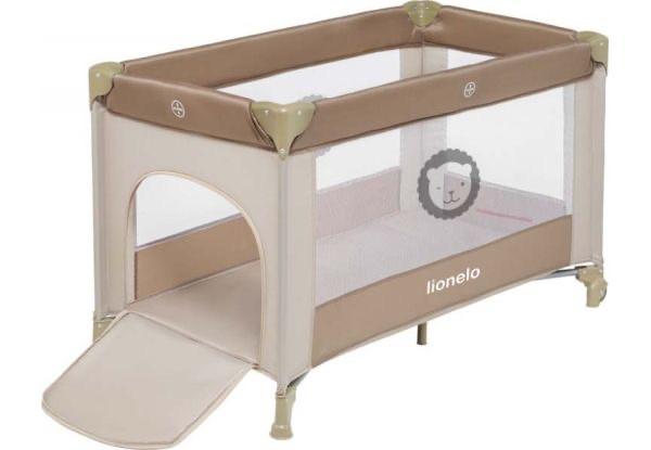 Манеж - кровать Lionelo Adriaa plus beige stripes