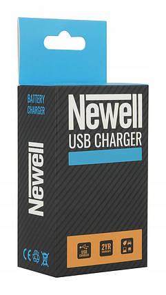Зарядний пристрій зу З\У Newell LCD-USB-З charger for LP-E6, фото 2
