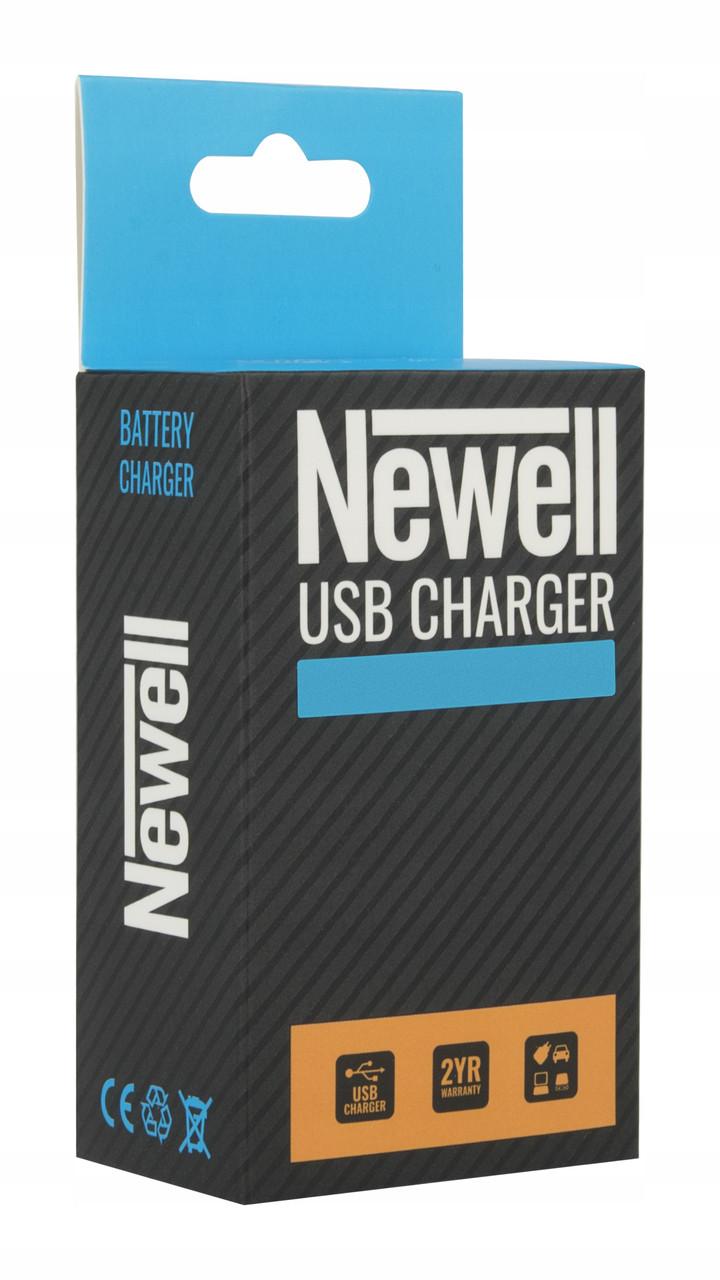 Зарядний пристрій зу З\У Newell LCD-USB-З charger for LP-E6
