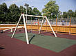 Плитка травмобезопасная резиновая 500х500х30 (квадрат метр), фото 2
