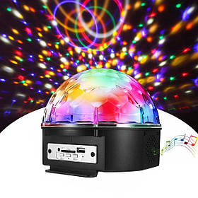 Светодиодный диско-шар Disco Ball SD-5150 с колонкой и пультом