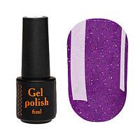 Гель-лак Nailapex № 441 (фиолетовый, с разноцветной крошкой), 6 мл