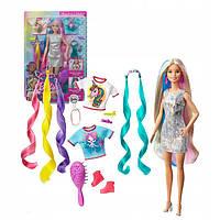 Кукла Барби Фантазийные образы, фантастические волосы Barbie fantasy hair Doll Mattel (GHN04)