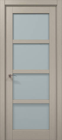 Двери Папа Карло, Полотно+коробка+ 2 к-та наличников+добор 100мм, Millenium, модель ML-32, фото 2