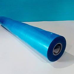 Плівка захисна самоклеюча для листів 1500мм * 1000м МАТОВА блакитна (25мкм, 80г х 25мм)