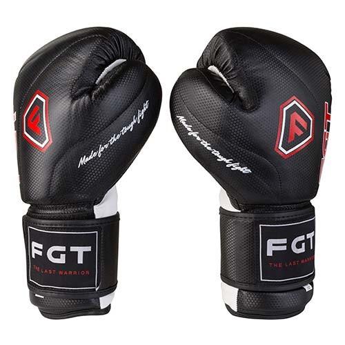 Боксерські рукавички чорні 12oz FGT, Cristal 2815