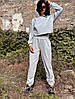 Женский спортивный костюм из трехнитки петля