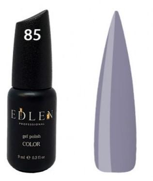 Гель-лак EdLen №85 (серо-голубой, эмаль), 9 мл