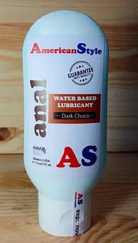 Лубрикант для анального секса с анестетиком American Style Черный шоколад 115 мл