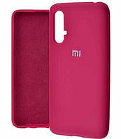 Чехол Silicone Case Full для Huawei Nova 5T Hot Pink