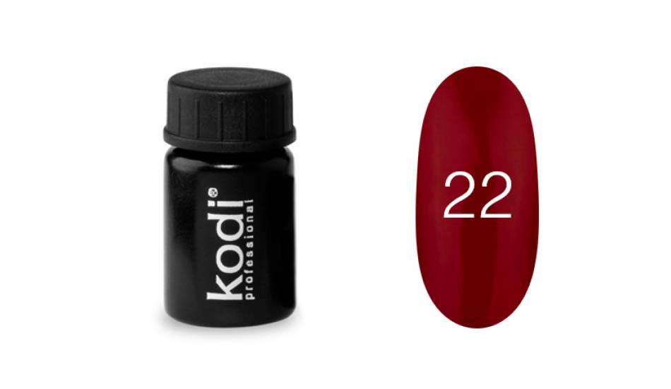 Гель-краска Kodi Professional №22