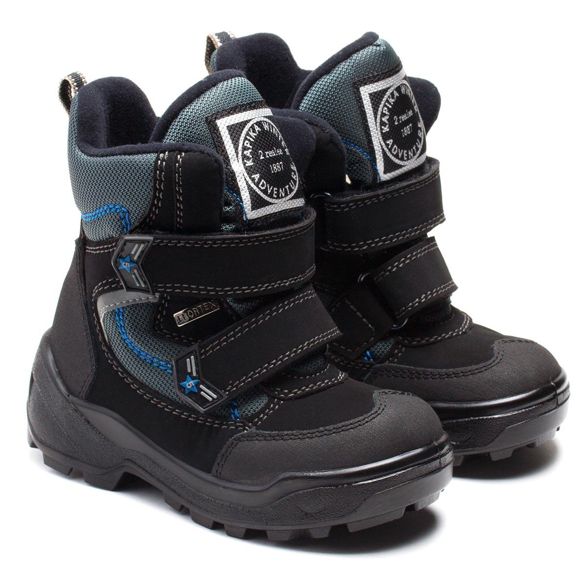 5d785490a Зимние ботинки Kapika мембранные, для мальчика, размер 28-36 - Детская обувь  ORTOPEDIC