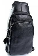Мужская кожаная сумка 5066  Black. Мужские сумки оптом и в розницу недорого в Украине., фото 1