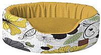 Лежанка для собак Croci COZY FLO 50*35*14 см (цветы)
