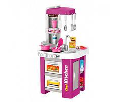 Ігровий набір Кухня для дітей Kitchen Set 922-49 світло звук вода 49 деталей від 3 років