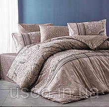 Комплект постельного белья из фланели ТМ Belizza Sante kahve