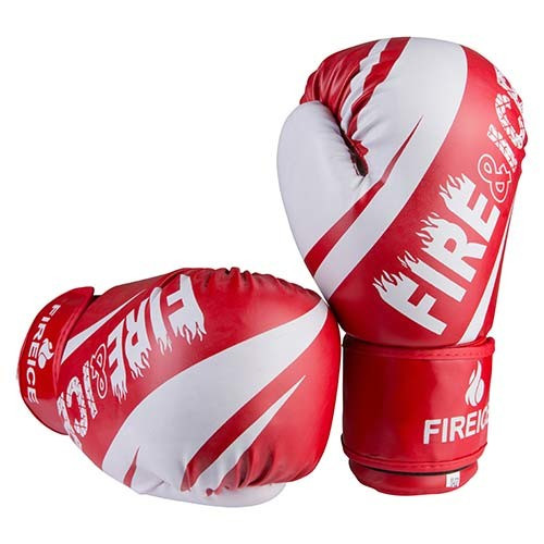 Боксерські рукавички червоні 10oz Fire&Ice DX