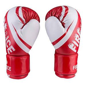 Боксерські рукавички червоні 10oz Fire&Ice DX, фото 2