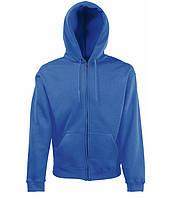 Толстовка Fruit of the Loom Premium hooded sweat jacket M Ярко-синий 062034051M, КОД: 1574308