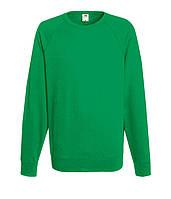 Свитшот Fruit of the Loom Lightweight raglan sweat XL Ярко-зеленый 062138047XL, КОД: 1574375