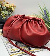 Женский сумка облачко 095 красный женские клатчи, женские сумки купить оптом в Украине, фото 1