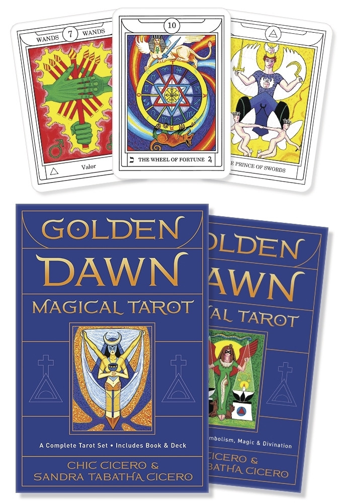 Golden Dawn Magical Tarot/ Магическое Таро Золотого Рассвета