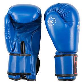 Боксерские перчатки синие 10oz TopTen DX-3148, фото 2