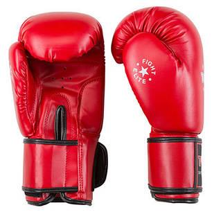 Боксерські рукавички червоні 10oz TopTen DX-3148, фото 2