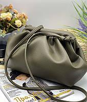 Женский сумка облачко 095 зеленый женские клатчи, женские сумки купить оптом в Украине, фото 1